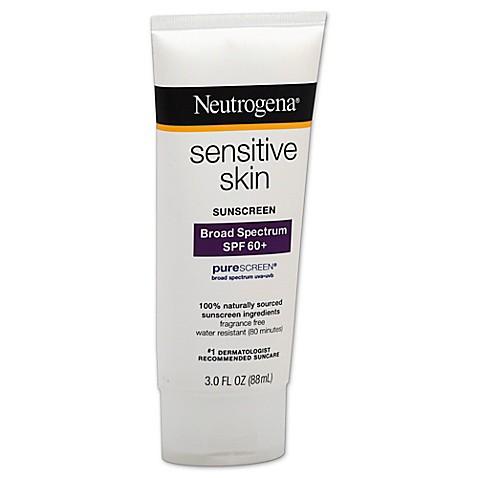 neutrogena sunscreen for sensitive skin