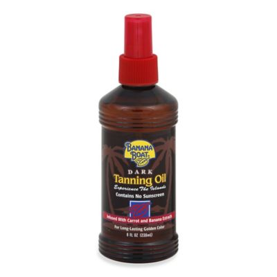Banana Boat® 8 oz. Dark Tanning Oil Spray SPF 4