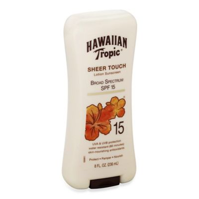 Hawaiian Tropic® 8 oz. Sheer Touch Ultra Radiance Lotion Sunscreen SPF 15