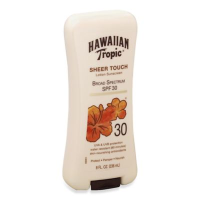 Hawaiian Tropic® 8 oz. Sheer Touch Ultra Radiance Lotion Sunscreen SPF 30