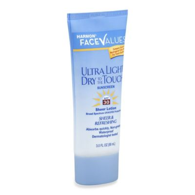 Harmon® Face Values™ 3 oz. Ultra Light Dry to the Touch Sunscreen Lotion SPF 30