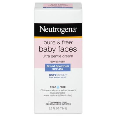 Neutrogena® Pure and Free® Baby Faces 2.5 oz. Ultra Gentle Sunblock SPF 50