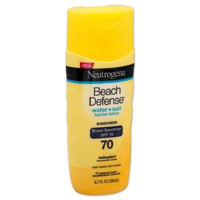 Neutrogena® Beach Defense® 6.7 oz. Sunscreen Lotion Broad Spectrum SPF 70