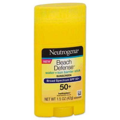 Neutrogena® Beach Defense® 1.5 oz. Water + Sun Protection Sunscreen Stick SPF 50+