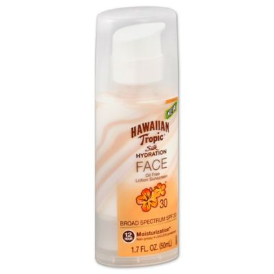 Hawaiian Tropic® Silk Hydration™ 1.7 oz. Face Lotion Sunscreen SPF 30