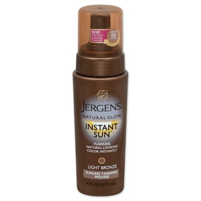 Jergens® Natural Glow® 6 oz. Instant Sun™ Sunless Tanning Mousse