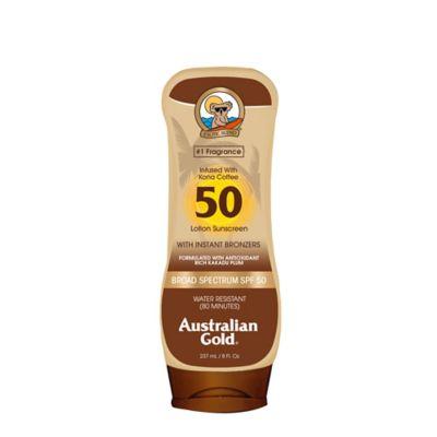 Australian Gold® 8 oz. Lotion with Kona Bronzers SPF 50