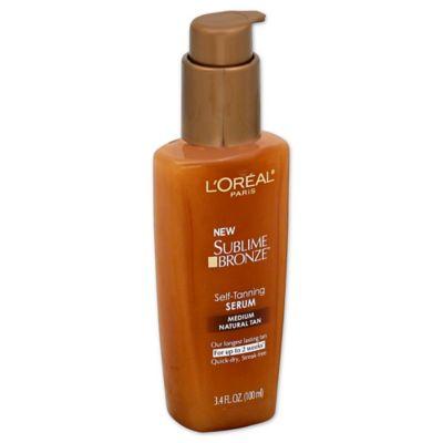 L'Oréal® Paris 3.4 oz. Sublime Bronze™ Self-Tanning Serum