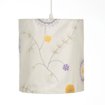 Glenna Jean Fiona Floral Hanging Drum Shade Kit