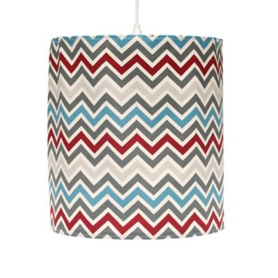 Glenna Jean Happy Trails Hanging Chevron Drum Shade Kit in Multi