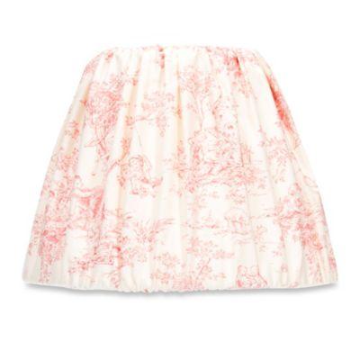 Cream Pink Lamp Shade