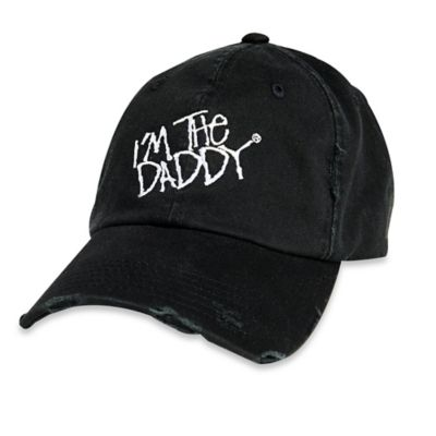 "Daddy & Co.™ ""I'm the Daddy"" Vintage Hat in Black"