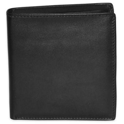 Dopp Leather Regatta Convertible Cardex in Black