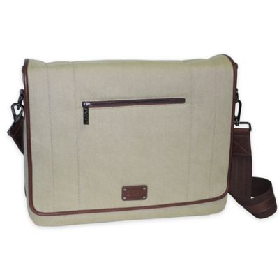 Dopp® 16.5-Inch Gear Messenger Bag in Tan