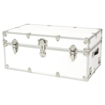 Rhino Trunk and Case™ Large Rhino Armor Trunk in White