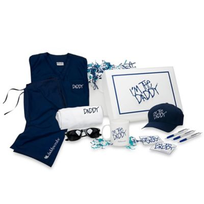 Daddy & Co.™ DaddyScrubs Large Edgy Swag Box Set in Navy
