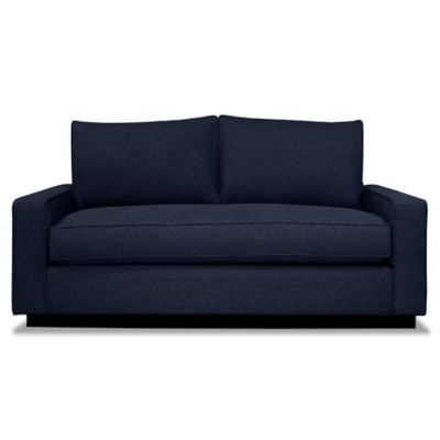 Kyle Schuneman for Apt2B Harper Apartment Sofa with Black Base in Bisque