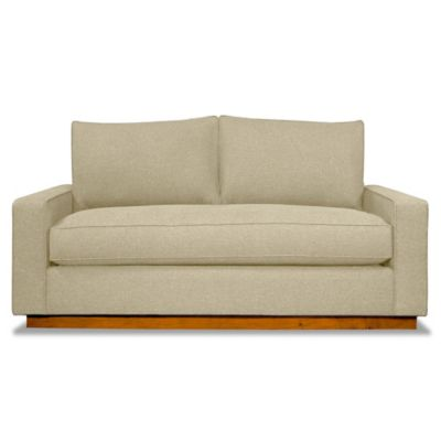 Kyle Schuneman for Apt2B Harper Apartment Sofa with Pecan Base in Baltic
