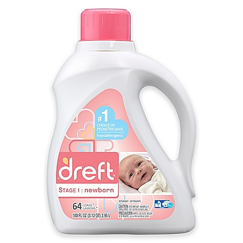 Dreft 100-Ounce 2X Liquid Detergent