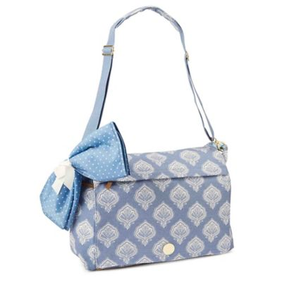 Mud Pie® Bundle of Joy Jaipur Messenger Diaper Bag in Blue