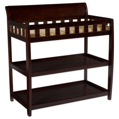 Delta™ Children Bentley 2-Shelf Changing Table in Chocolate