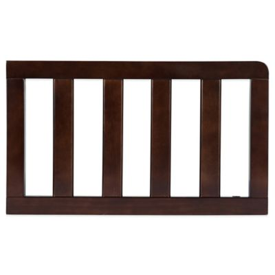 Delta™ Children Bentley Toddler Guardrail in Chocolate