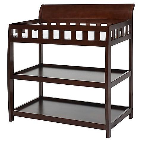 Buy Delta Bentley Hardwood 2 Shelf Changing Table In