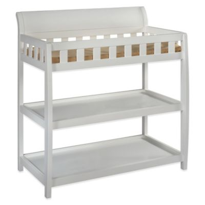 Delta™ Children Bentley 2-Shelf Changing Table in White