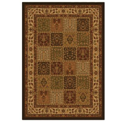 Orian American Heirloom Collection Madaline Multicolor 5-Foot 3-Inch x 7-Foot 6-Inch Rug