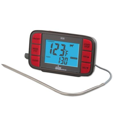 Taylor® Oh My Grill™ Digital Grilling Thermometer with Probe and Timer