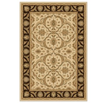 Orian American Heirloom Collection Hilary Bisque 7-Foot 10-Inch x 10-Foot 10-Inch Rug