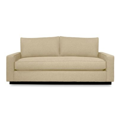 Kyle Schuneman for Apt2B Harper Sofa with Black Base in Seafoam