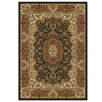 Orian American Heirloom Collection Walbridge 7-Foot 10-Inch x 10-Foot 10-Inch Rug in Claret