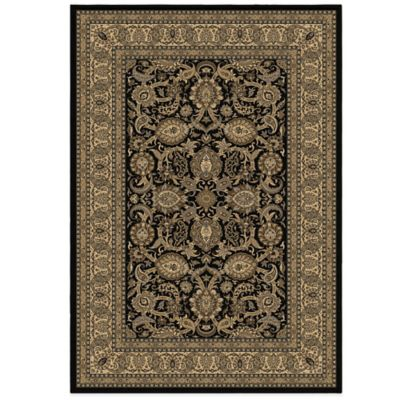 Orian American Heirloom Collection Shativar Onyx 7-Foot 10-Inch x 10-Foot 10-Inch Area Rug