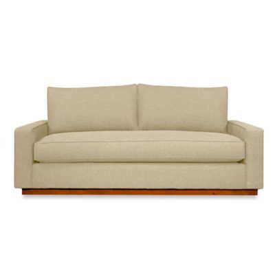 Kyle Schuneman for Apt2B Harper Sofa with Pecan Base in Baltic