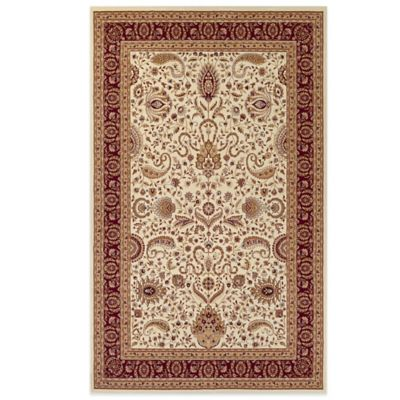 Couristan® Antalya Collection Manisa 7-Foot 10-Inch x 11-Foot 2-Inch Rug in Red/Cream