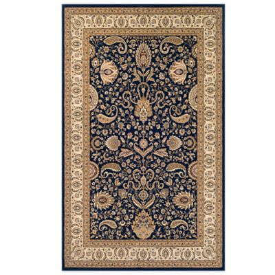 Couristan® Antalya Collection Manisa 9-Foot 2-Inch x 12-Foot 6-Inch Rug in Navy/Cream