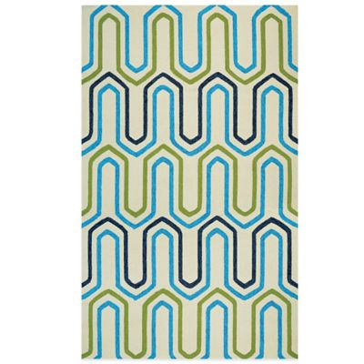 Couristan® Covington Collection High Tide 2-Foot x 4-Foot Rug