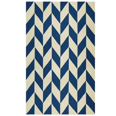 Couristan® Covington Collection Herringbone 5-Foot 6-Inch x 8-Foot Rug