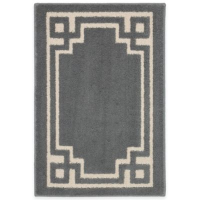 Mohawk Home Park Ave 1-Foot 8-Inch x 2-Foot 10-Inch Rug in Slate