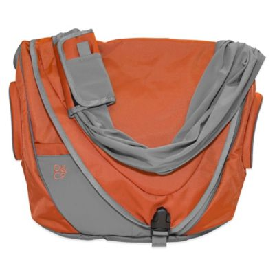 Daddy & Company Messenger Diaper Pack in Copper
