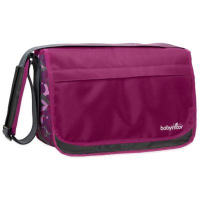 babymoov® Messenger Diaper Bag in Hibiscus