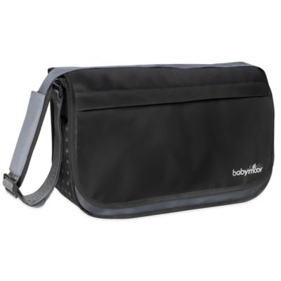 babymoov® Messenger Diaper Bag in Black