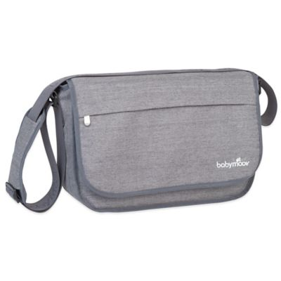 babymoov® Messenger Diaper Bag in Heather Grey