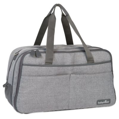 babymoov® Traveller Diaper Bag in Heather Grey