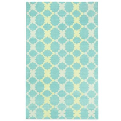 Kevin O'Brien by Capel Rugs Riviera 3-Foot x 5-foot Rug in Blue Brown