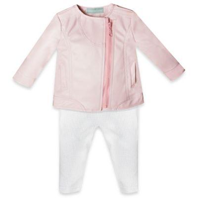 Pink Jacket and Pant Set