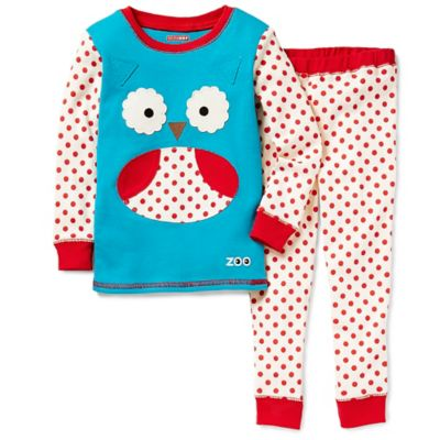 SKIP*HOP® ZOOJAMAS™ Size 2T Owl Long-Sleeve Pajamas in Blue