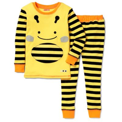 SKIP*HOP® ZOOJAMAS™ Size 2T Bee Long-Sleeve Pajama in Yellow