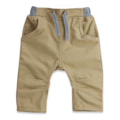 No Retreat™ Size 3-6M 5-Pocket Jog Pant in Khaki